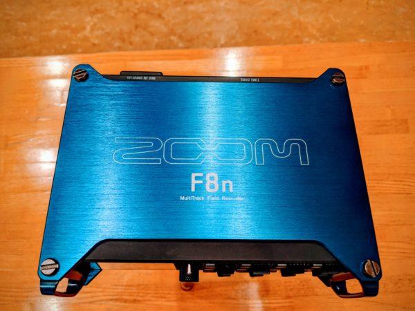 外部録音用機材~ZOOMフィールドレコーダー『F8n』